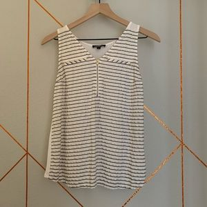 Express striped casual top